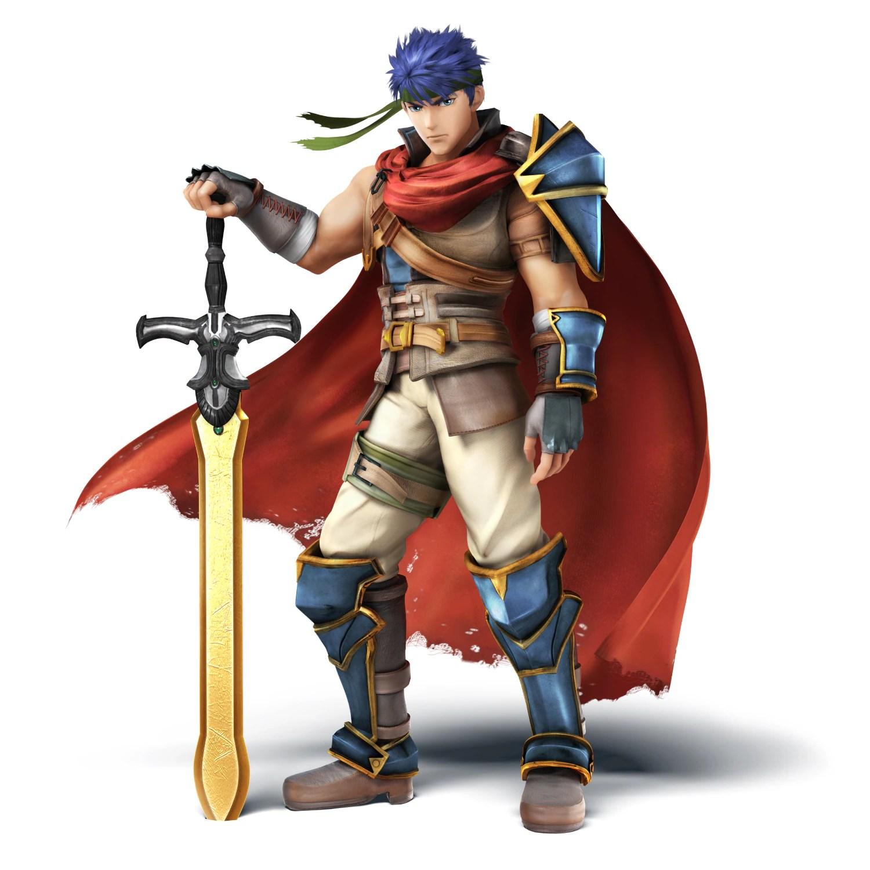 Super Smash Bros Fr Nintendo 3DS Und Wii U Ike