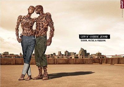 levi's copper jeans