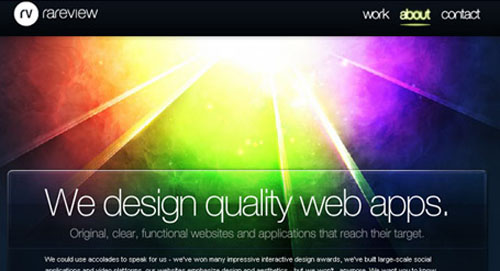 25+ Examples of Effective Glowing Effect in Web Design