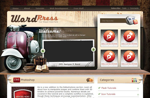 25+ Useful WordPress Themes with Ads Ready