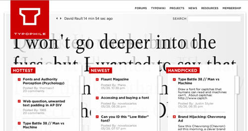 Ultimate List of 32 Font And Typography Tools