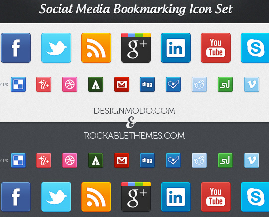 Vibrant Collection Of Fresh And Free Social Media Icon Sets