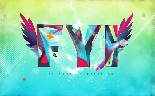 How to Create a Colorful Text Design in Photoshop