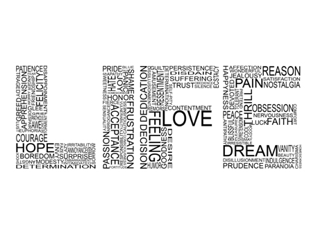 115 words of LIFE by januscastrence 45 Free Inspiring High Quality  Typography Wallpapers
