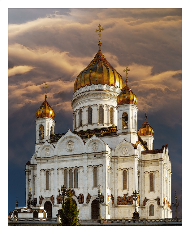 Christ the Savior Cathedral Moscow 30 Smashing Examples of  Architectural Photography