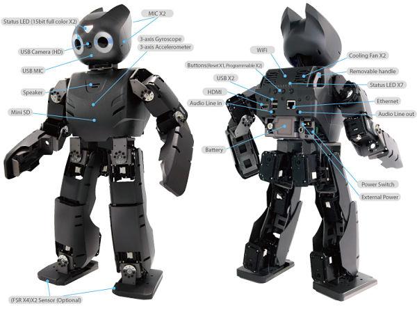 DARwIn-OP humanoid robot