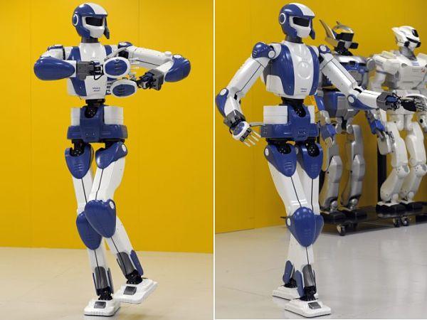 HRP-4 humanoid robot