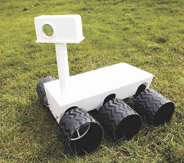 Mars Rover Replica with Electric Imp and Arduino