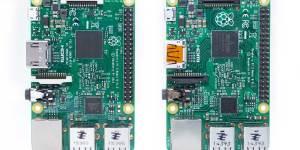Raspberry Pi 3 and Pi 2 comparison - topby side