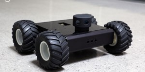 Sweep scanning LIDAR sensor on mobile robot