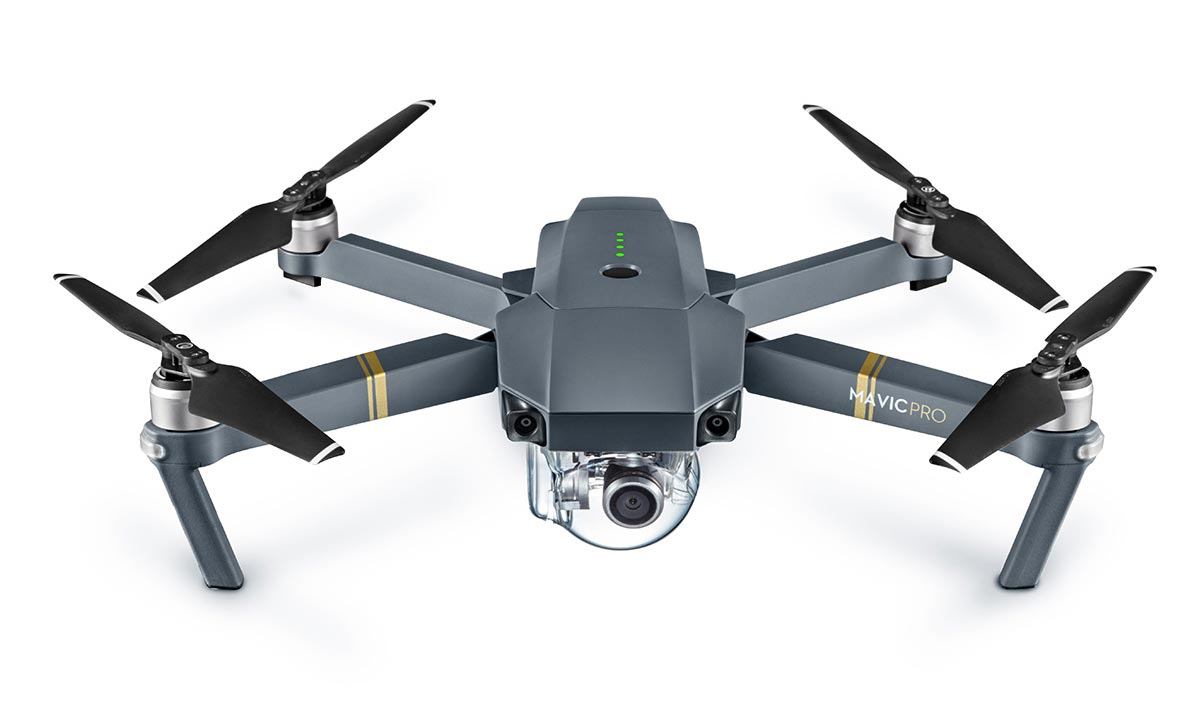 DJI Mavic Pro foldable camera drone