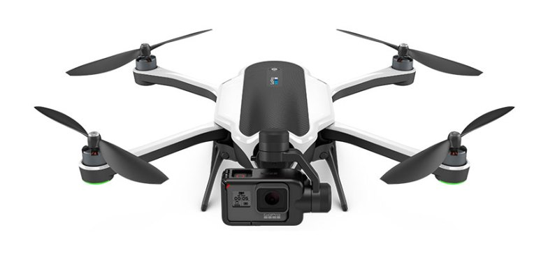 GoPro Karma drone with Hero5 camera