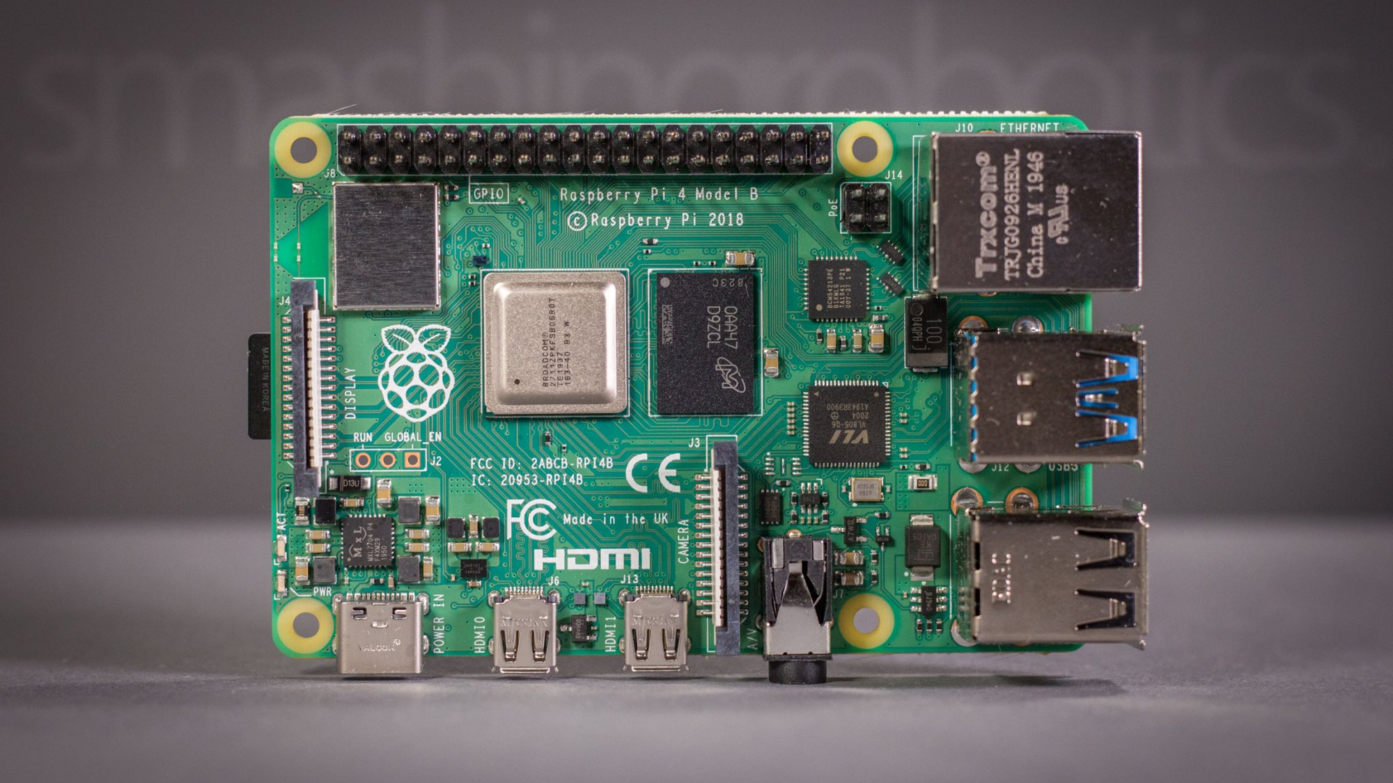 Raspberry Pi 4 model B 8 GB board