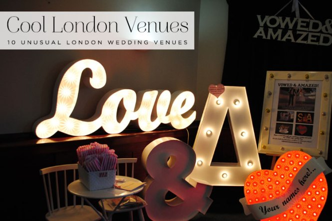 Small Wedding Venues London