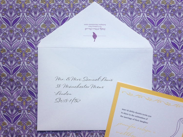 How To Address Wedding Invitations 1364