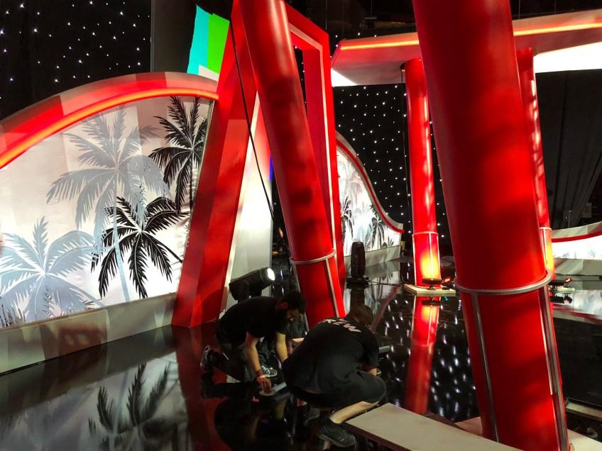 stage columns