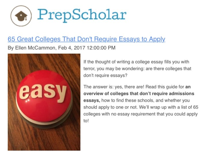 Scholarships that don t require essays poemsview co
