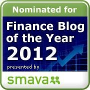 Finance Blog of the Year 2012