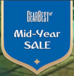 【GEARBEST】MID-YEAR SALE開催中!運が良ければすげぇクーポンをゲット出来るかも・・・。