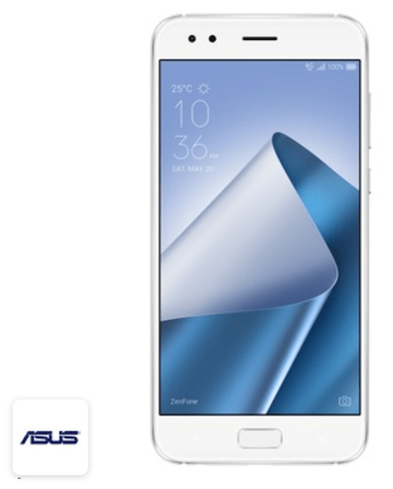 ASUS Zenfone 4 Dual-SIM ZE554KL (SD630, 4GB/64GB, Moonlight White)