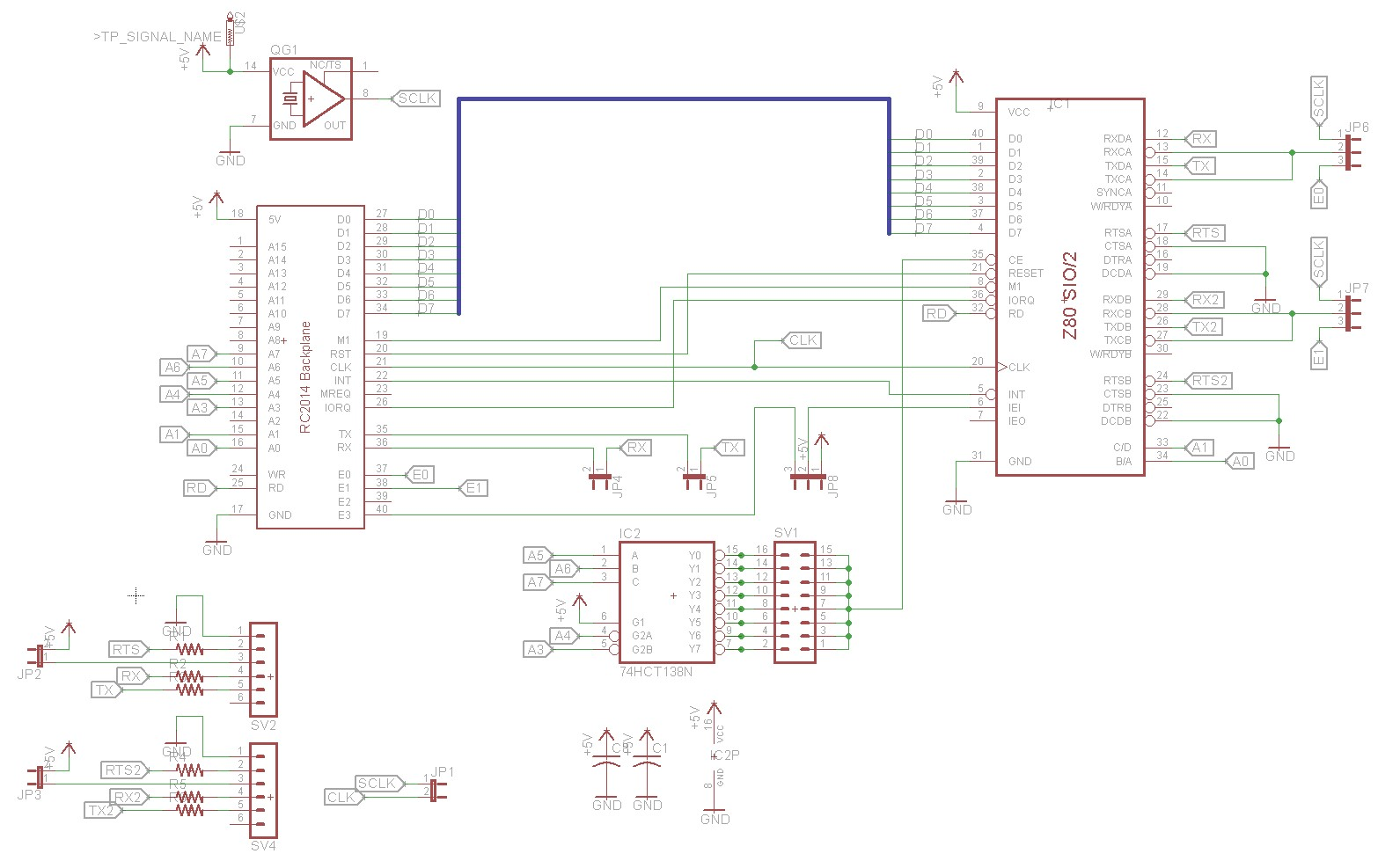 Z80 Retrocomputing 9 Ctc And Dual Serial Ports For