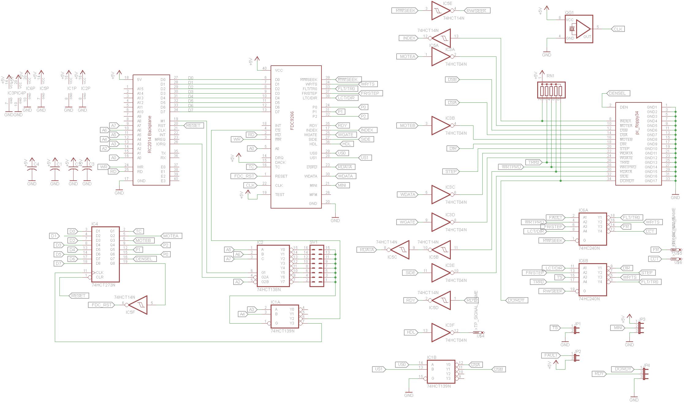 Z80 Retrocomputing Part 14 Rc Floppy Controller