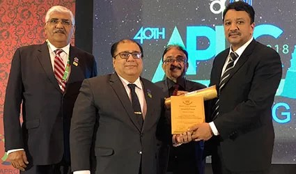 Pakistan Dental Association's Humanitarian Award conferred on Dr SM Balaji