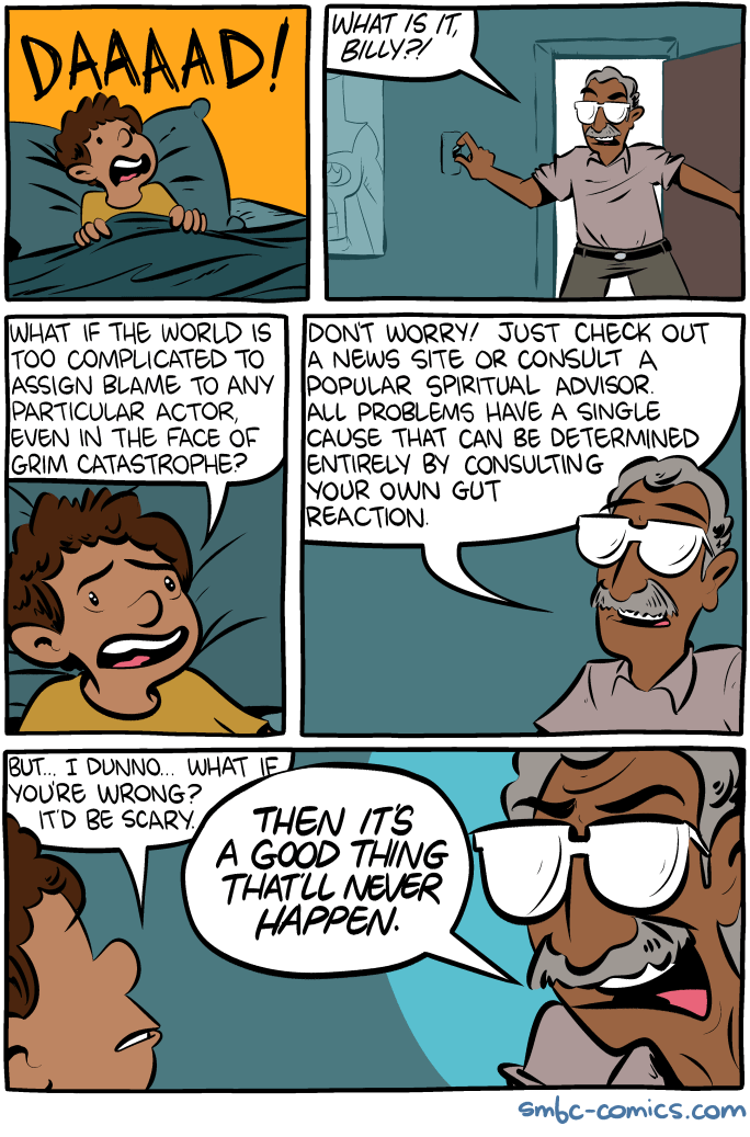 Saturday Morning Breakfast Cereal The Scariest Possibility