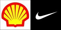 Shell and Nike logos