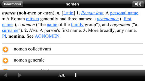 Blacks Law Dictionary for iOS