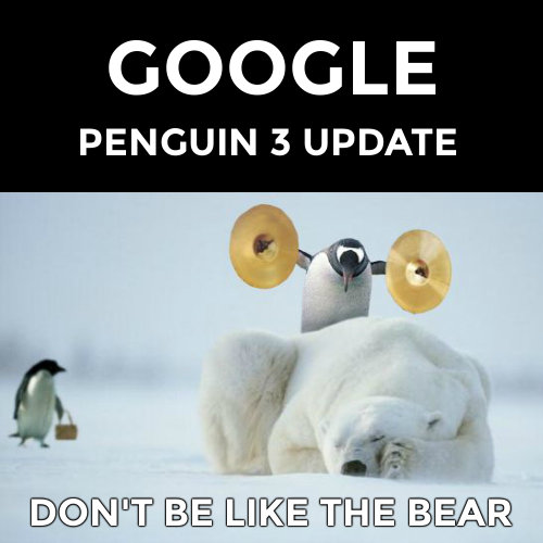 Google Penguin 3 update