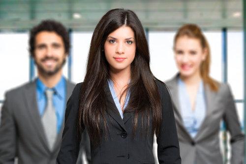 Millennial business leader