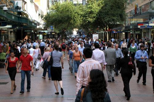 Sydney, Australia busy street