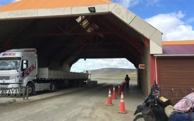Chile to Argentina Border Crossing: Paso San Sebastian