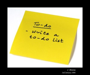 """To Do List"""