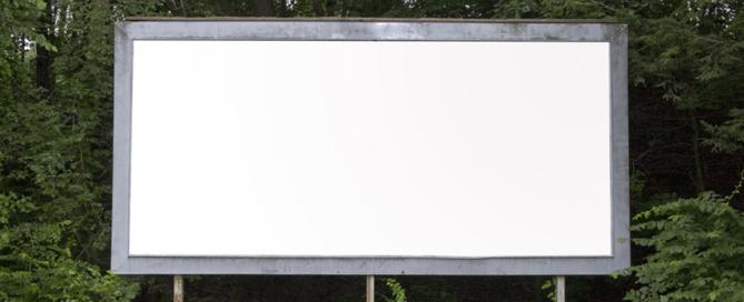 SMB Blank Billboard