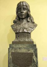 Bust of Leonard Calvert