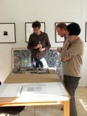 Open Studio with Amparo Carvajal-Hufschmid