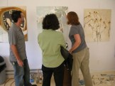Open studio with Molly Rausch, Colby Caldwell and Lisa Scheer