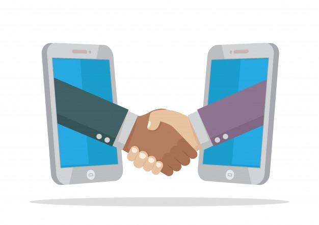 two-businessman-handshake-smartphone_61103-859
