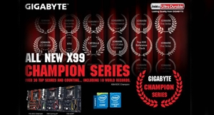 GIGABYTE's New X99 Champion Series Mobos Launched