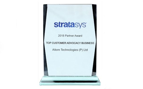 Altem Technologies wins at Stratasys APJ Annual Partner Meet 2019 in Bangkok, Thailand