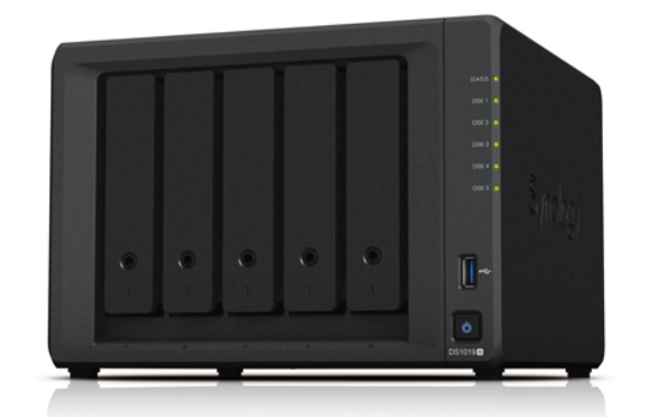 SYNOLOGY Launches DiskStation DS1019+, For Small Offices And IT Enthusiasts