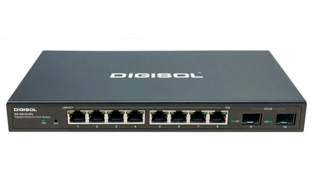DIGISOL Gigabit Ethernet Smart Managed PoE Switch