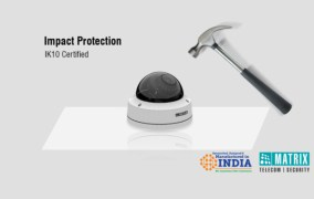 Professional Series- IP Dome Cameras