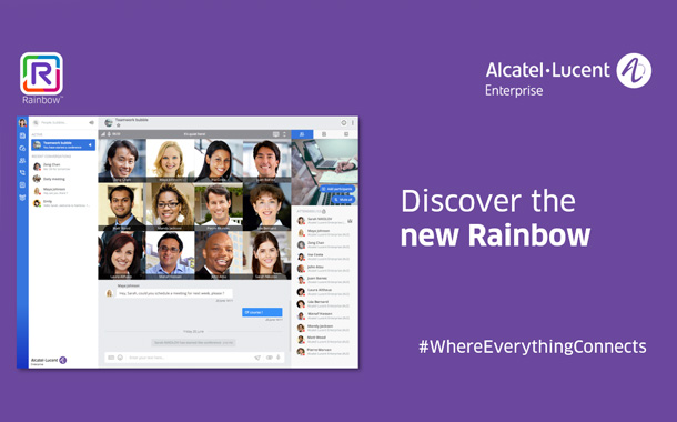 Alcatel-Lucent Enterprise Rainbow Offers a Streamlined Design and User Experience