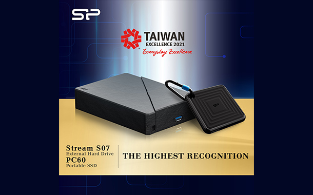 Two Storage Solutions Win the Taiwan Excellence Award