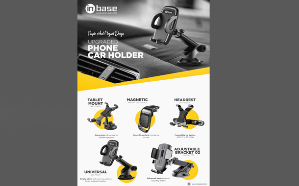 Inbase launches its latest series of Car Mounts and Holders for Tablets and Smartphones in the Indian market