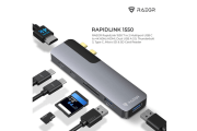 RAEGR launches USB-C hubs 'RapidLink 1250' and 'RapidLink 1550' for iPads, MacBooks, and Smartphones