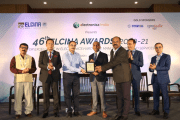Matrix Comsec felicitated with ELCINA Award for Excellence in Research and Development